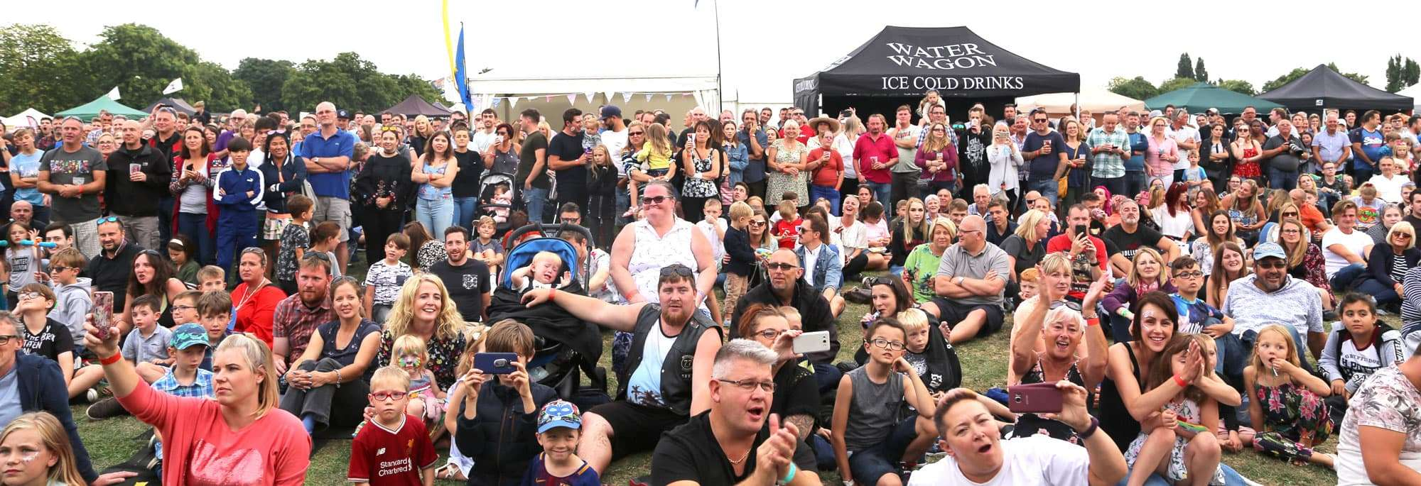 BBQ Festival crowd - Smoke and Fire Festival