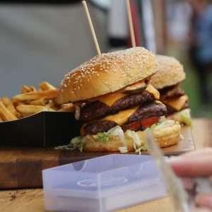 Festival Burger Stack