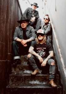 Coyote Creed performing Sat at Colchester Smoke & Fire Festival