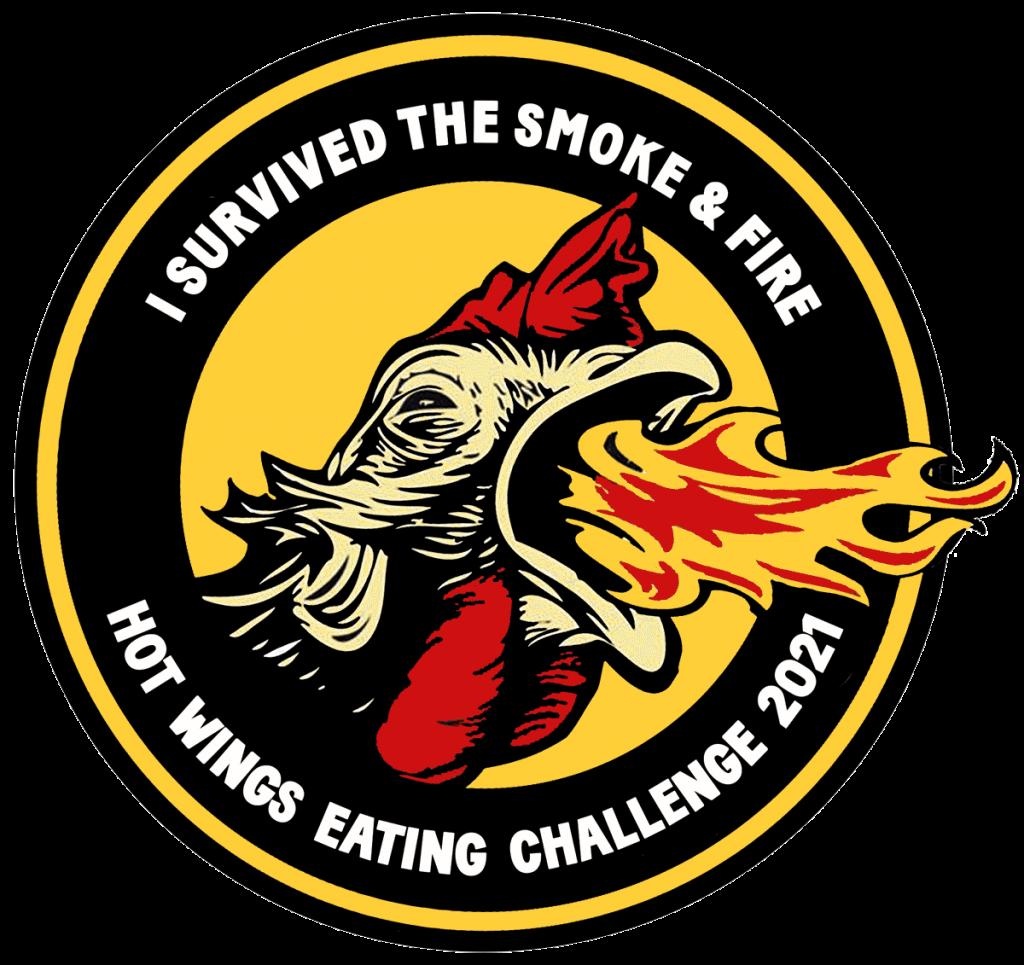 Hot Wings badge